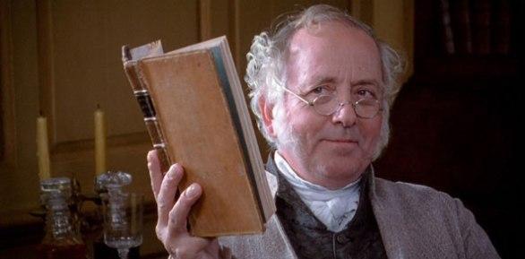 Mr. Bennet from Pride and Prejudice