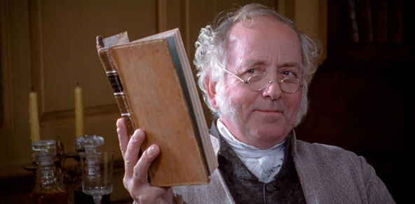 Mr. Bennet from Pride and Prejudice