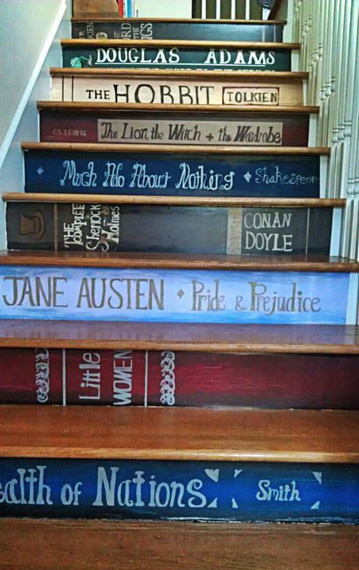 book-stairs