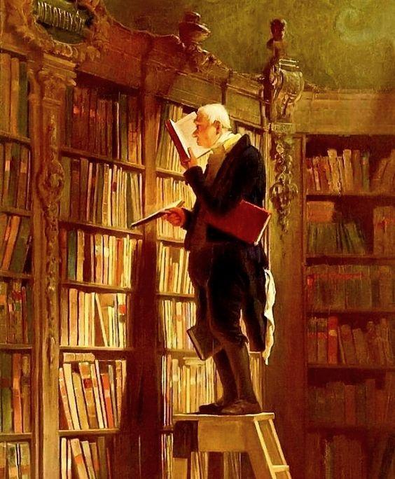 Carl Spitzweg – The Bookworm – 1850 – Museum Georg Schafer, Schweinfurt, Germany