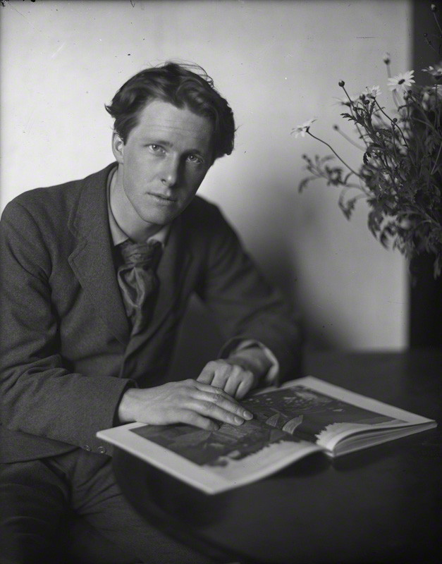 NPG P101(g); Rupert Brooke by Sherrill Schell