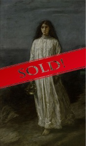 Painting The Somnambulist by Millais was sold