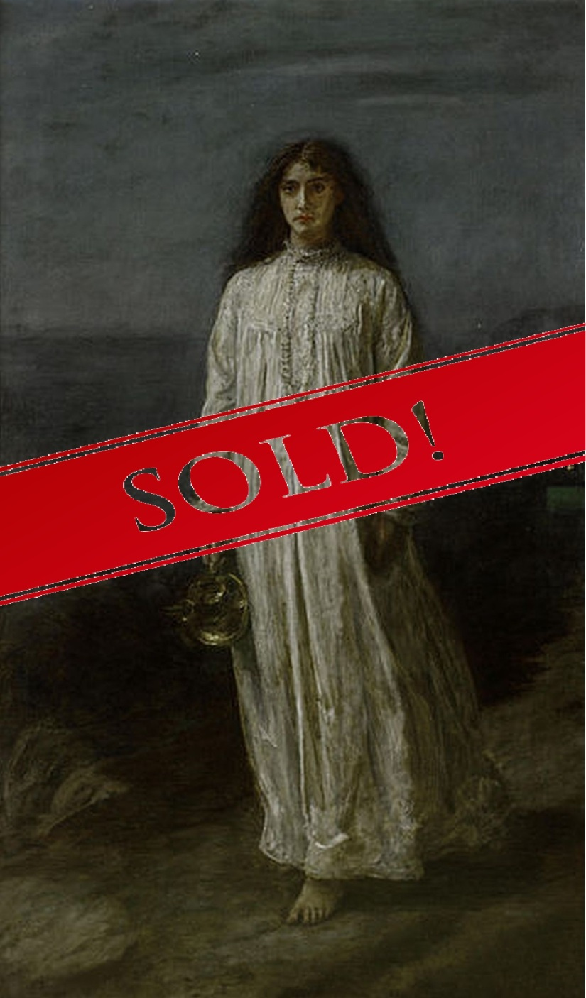 The_Somnambulist_Millais_PRB_Sold