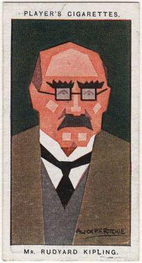 by Alick P.F. Ritchie, cigarette card, 1926