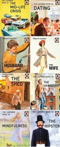 8 postmodern Ladybird books