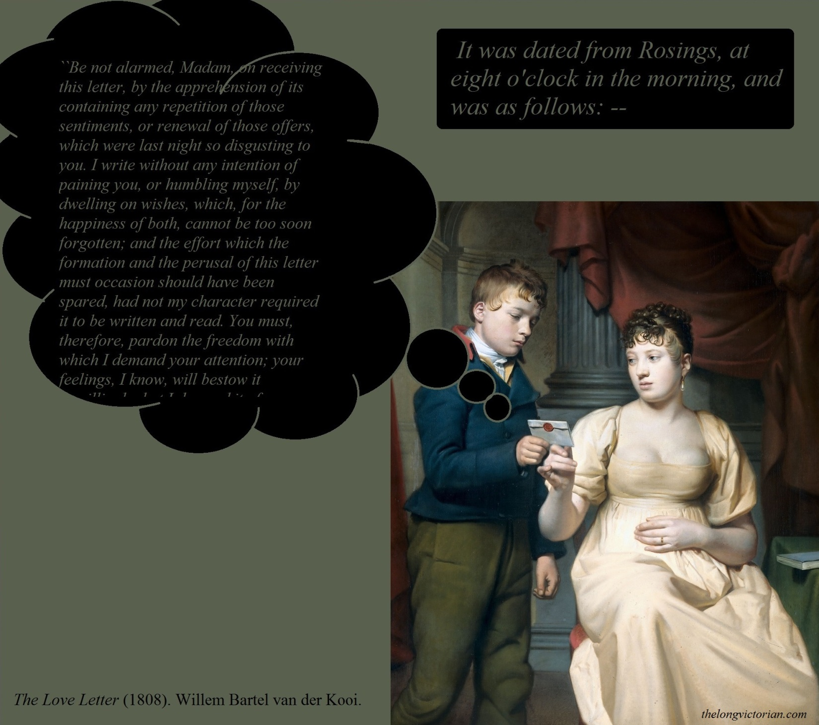the relationship between charlotte lucas and mr collins essay Mr william collins has a grand scheme to help himself and to help his cousin, mr bennet a clergyman, mr collins has been encouraged by his patroness, lady de bourgh, to set a proper example for the parish by marrying as the holder of the entail to the bennet estate—as the one who.