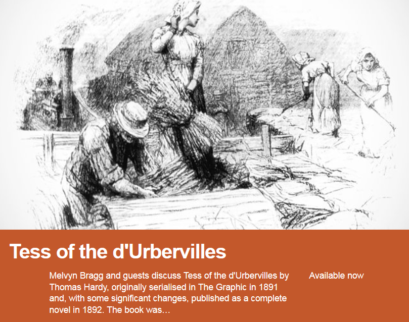 Tess of the DUrbervilles - Sample Essay