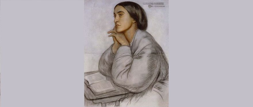 Christina Rossetti, by her brother Dante Gabriel Rossetti