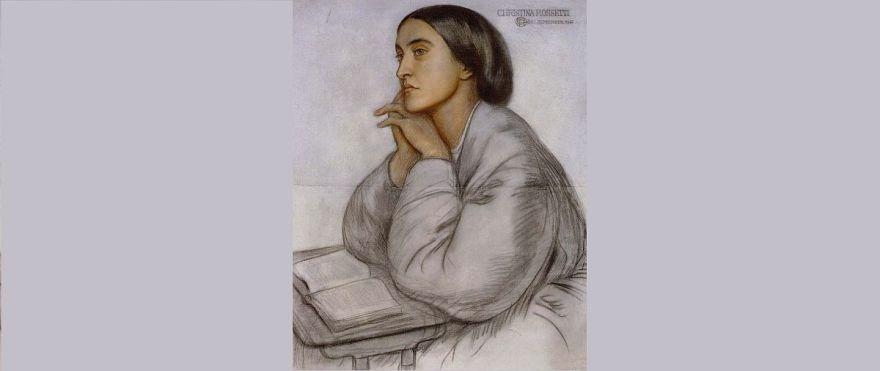 Christina Rossetti, by her brother Dante Gabriel Rossetti