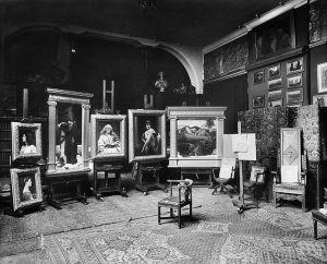 Frederic Leighton's studio