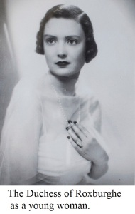 The Duchess of Roxburghe.