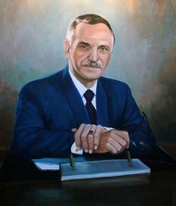 Industrialist, politician and collector, Luis A Ferré.