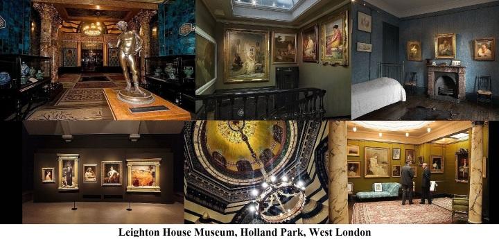 Leighton House Museum, Holland Park, West London.