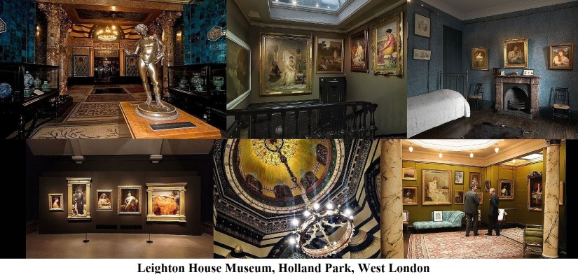 Leighton House Museum, Holland Park, West London.