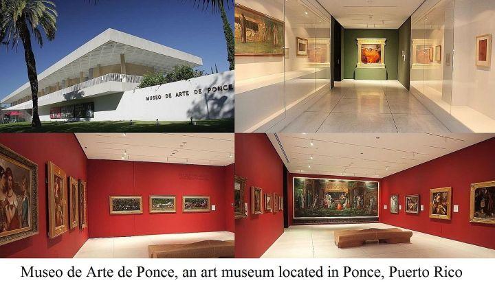 Museo de Arte de Ponce in Puerto Rico.