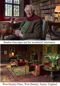 Bamber Gascoigne at West Horsley Place.