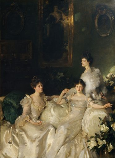 John Singer Sargent - The Wyndham Sisters - Lady Elcho, Mrs. Adeane, and Mrs. Tenant, 1899
