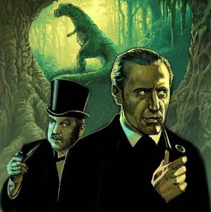 Sherlock Holmes in The Lost World by Conan Doyle