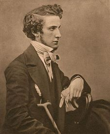 Photo of writer, Edward Bulwer-Lytton (1803-1873)
