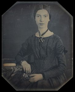 Poet Emily Dickinson aged 16
