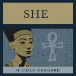 Cover of Rider Haggard classic She novel