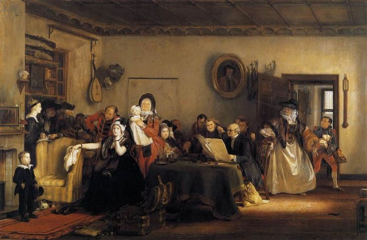 Reading the Will (1820)