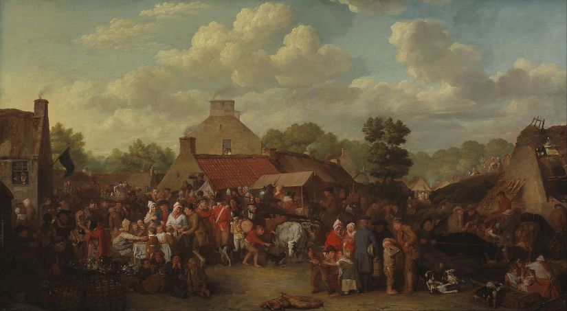 David Wilkie Pitlessie_Fair (1804)