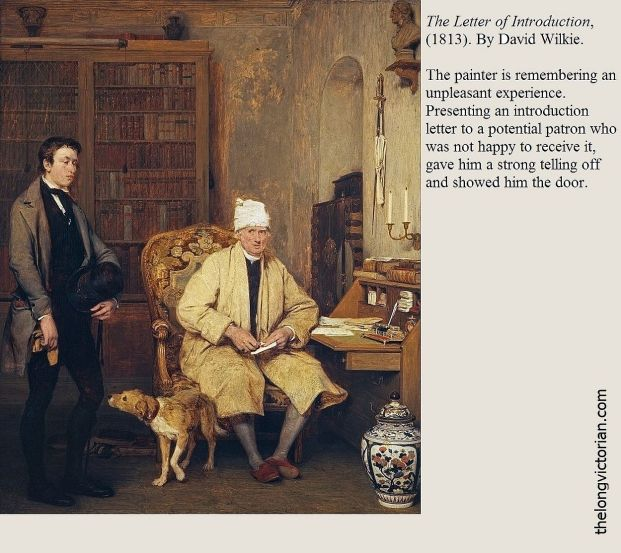 Painting The Letter of Introduction by David Wilkie