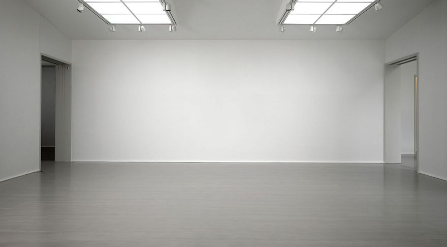 Image of an empty art gallery