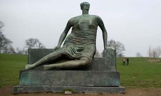 Image of a Henry Moore statue