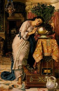 Small version of the painting Isabella and the Pot of Basil