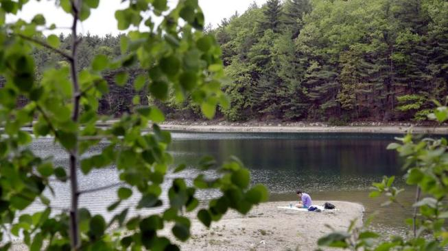 Walden Pond, MASS, USA