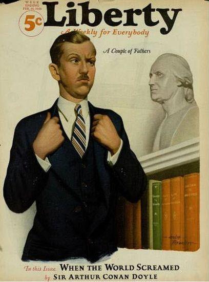 Liberty magazine with Conan Doyle story_1