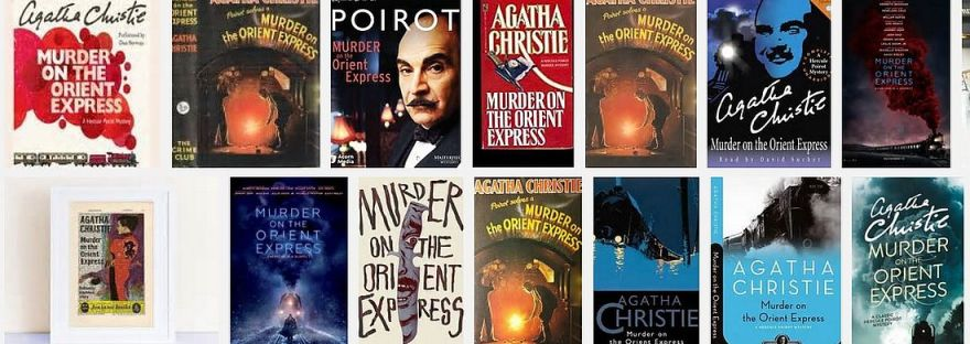 Images of Murder on the Orient Express book covers