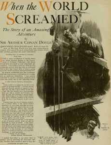 When the world screamed by Conan Doyle