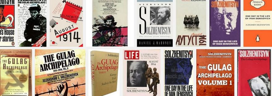 Book covers for Gulag Archipelago
