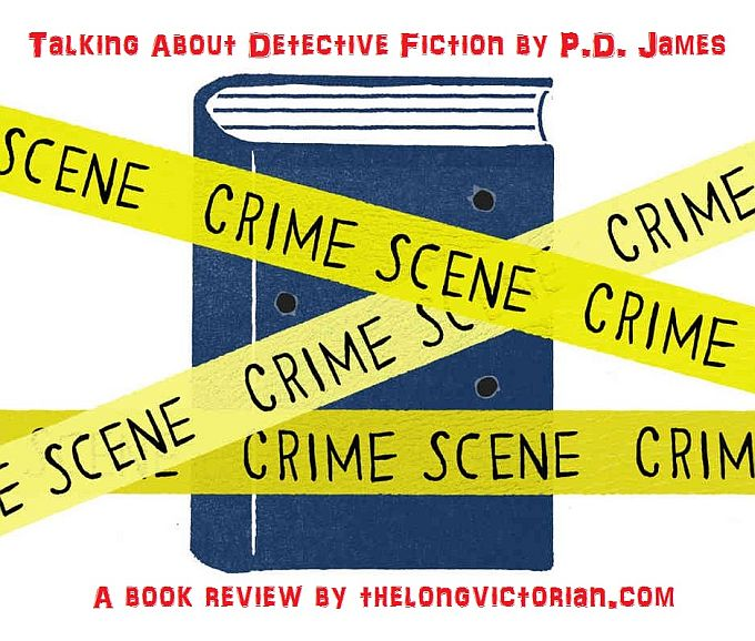 Second promotional tweet for a Detective Fiction book review