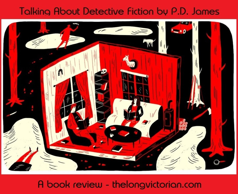Promotional tweet for a Detective Fiction book review