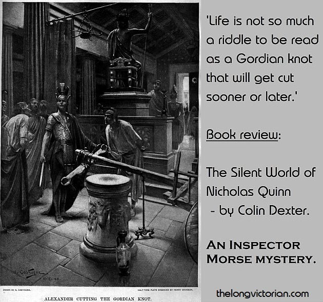Gordian knot quote for book review