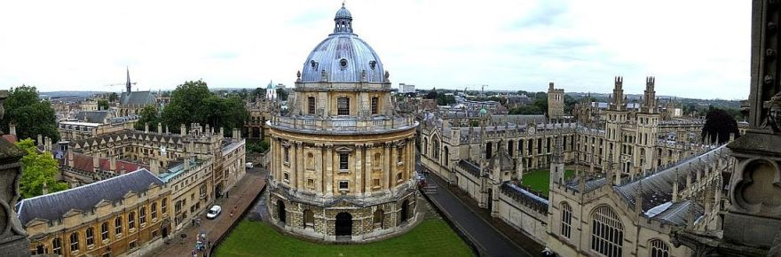 panorama photo of oxford