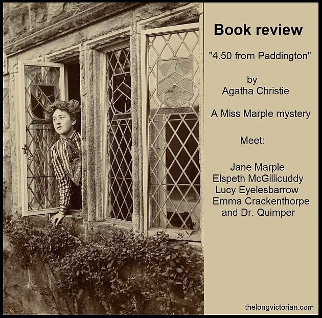 Promotional image for book review of 4.50 from Paddington by Agatha Christie