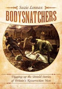 Front cover of a book – Bodysnatchers by Suzie Lennox