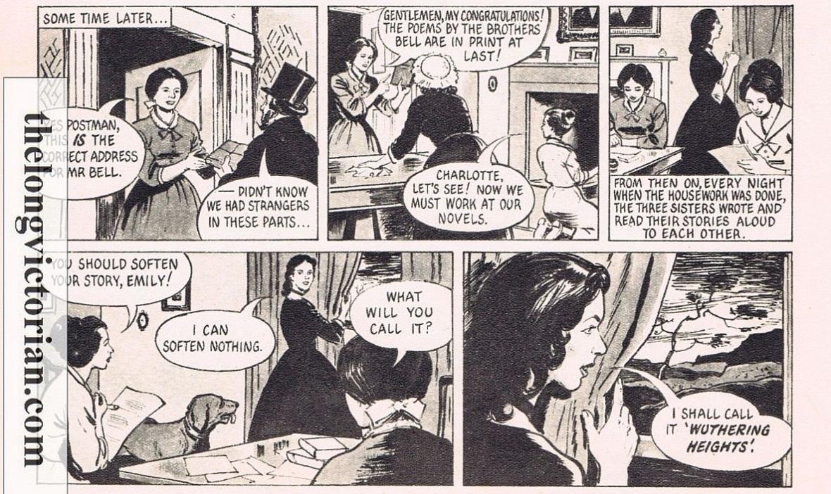 Bronte cartoon