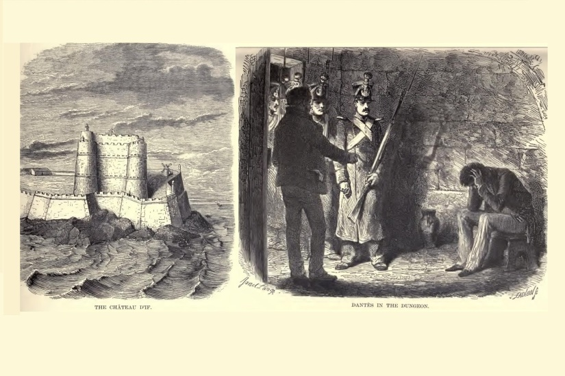 Illustrations from The Count of Monte Cristo.