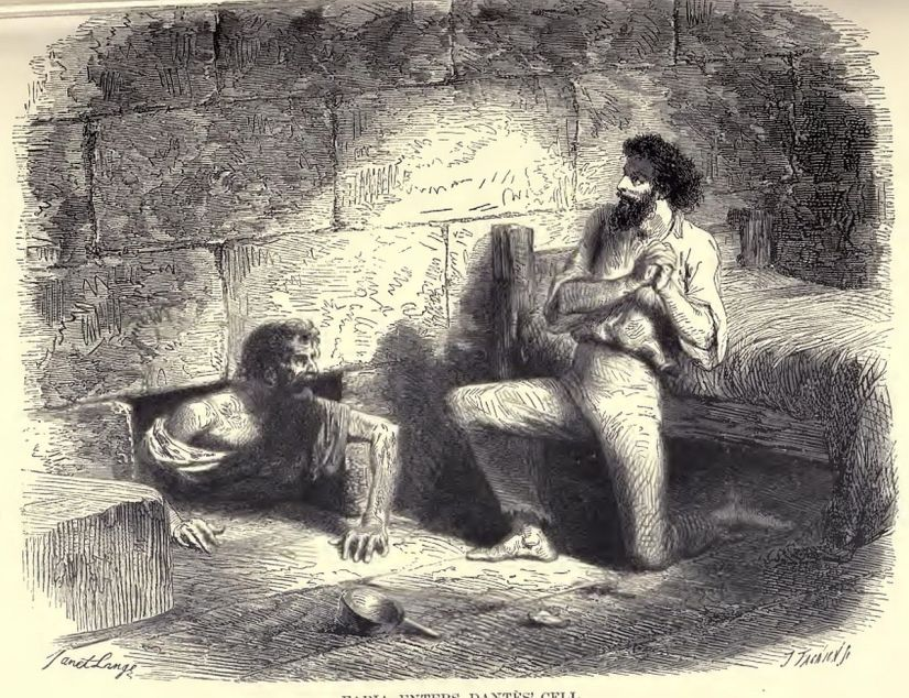 Illustration from The Count of Monte Cristo.