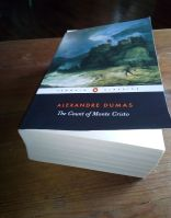 Reviewers Penguin edition of The Count of Monte Cristo by French author Alexandre Dumas.
